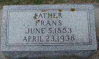 VANDERSTOEP, FRANS - Sioux County, Iowa | FRANS VANDERSTOEP