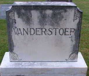 VANDERSTOEP, HEADSTONE FAMILY - Sioux County, Iowa | HEADSTONE FAMILY VANDERSTOEP