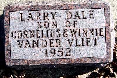 VANDERVLIET, LARRY DALE - Sioux County, Iowa | LARRY DALE VANDERVLIET