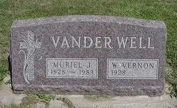 VANDERWELL, MURIEL - Sioux County, Iowa | MURIEL VANDERWELL