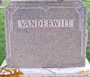 VANDERWILT, FAMILY HEADSTONE - Sioux County, Iowa | FAMILY HEADSTONE VANDERWILT