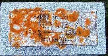 VANDERWILT, MINNIE (1883-1943) - Sioux County, Iowa | MINNIE (1883-1943) VANDERWILT