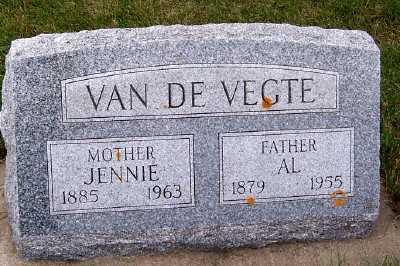 VANDEVEGTE, JENNIE - Sioux County, Iowa | JENNIE VANDEVEGTE