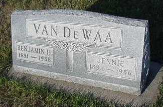 VANDEWAA, BENJAMIN - Sioux County, Iowa | BENJAMIN VANDEWAA