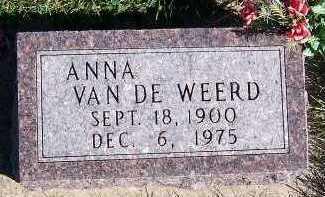 VANDEWEERD, ANNA - Sioux County, Iowa | ANNA VANDEWEERD