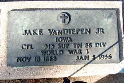 VANDIEPEN, JAKE JR. - Sioux County, Iowa | JAKE JR. VANDIEPEN