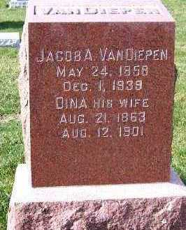 VANDIEPEN, DINA (MRS. JACOB A.) - Sioux County, Iowa | DINA (MRS. JACOB A.) VANDIEPEN