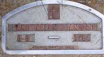 VANDRIEL, BLAKE ALLEN - Sioux County, Iowa | BLAKE ALLEN VANDRIEL