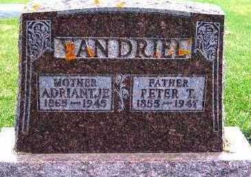 VANDRIEL, PETER T. - Sioux County, Iowa | PETER T. VANDRIEL