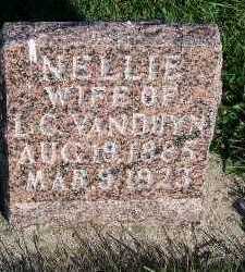 VANDUYN, NELLIE (MRS. L.C.) - Sioux County, Iowa | NELLIE (MRS. L.C.) VANDUYN
