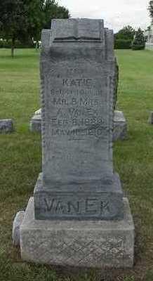 VANEK, KATIE - Sioux County, Iowa | KATIE VANEK