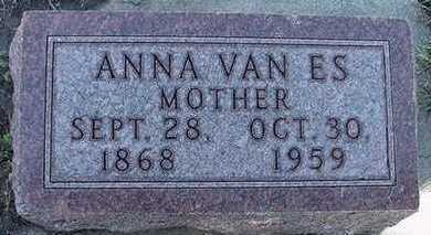 VANES, ANNA - Sioux County, Iowa | ANNA VANES