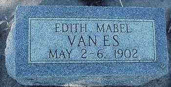 VANES, EDITH MABEL - Sioux County, Iowa | EDITH MABEL VANES