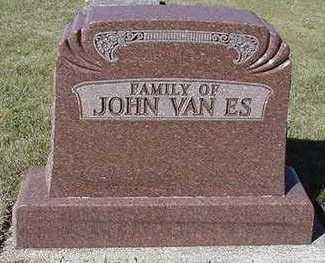 VANES, JOHN FAMILY - Sioux County, Iowa | JOHN FAMILY VANES