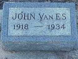 VANES, JOHN  D. 1934 - Sioux County, Iowa | JOHN  D. 1934 VANES