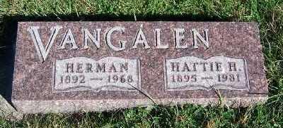 VANGALEN, HERMAN - Sioux County, Iowa | HERMAN VANGALEN