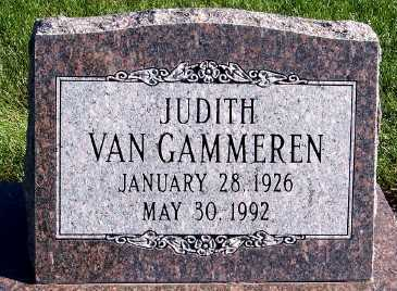 VANGAMMEREN, JUDITH - Sioux County, Iowa | JUDITH VANGAMMEREN