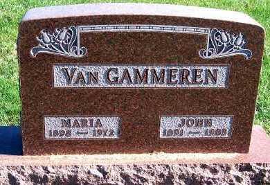 VANGAMMEREN, MARIA - Sioux County, Iowa | MARIA VANGAMMEREN