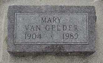 VANGELDER, MARY - Sioux County, Iowa | MARY VANGELDER