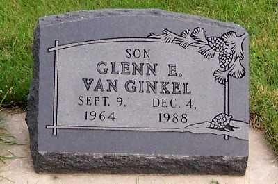 VANGINKEL, GLENN E. - Sioux County, Iowa | GLENN E. VANGINKEL