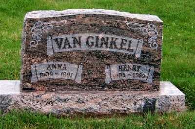 VANGINKEL, ANNA - Sioux County, Iowa | ANNA VANGINKEL