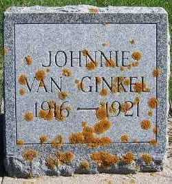 VANGINKEL, JOHNNIE - Sioux County, Iowa | JOHNNIE VANGINKEL