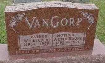 VANGORP, ARTIE (MRS. WILLIAM) - Sioux County, Iowa | ARTIE (MRS. WILLIAM) VANGORP