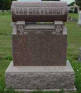 VANGREVENHOF, HEADSTONE - Sioux County, Iowa | HEADSTONE VANGREVENHOF