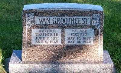 VANGROOTHEEST, TEUNISJE - Sioux County, Iowa | TEUNISJE VANGROOTHEEST