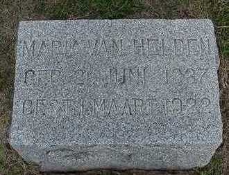 VANHELDEN, MARIA - Sioux County, Iowa | MARIA VANHELDEN