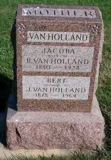 VANHOLLAND, JACOBA (MRS. BERT) - Sioux County, Iowa | JACOBA (MRS. BERT) VANHOLLAND