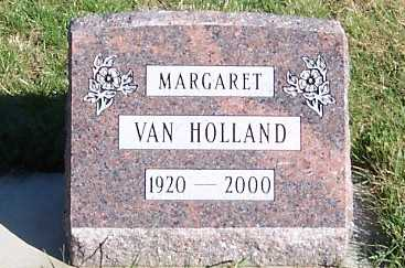 VANHOLLAND, MARGARET - Sioux County, Iowa | MARGARET VANHOLLAND