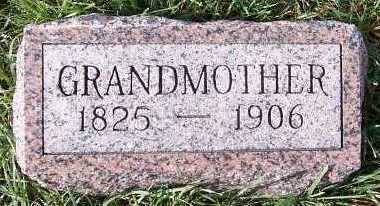 VANHOUTE, GRANDMOTHER - Sioux County, Iowa | GRANDMOTHER VANHOUTE