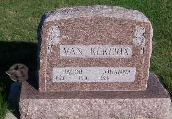 VANKEKERIX, JACOB - Sioux County, Iowa | JACOB VANKEKERIX