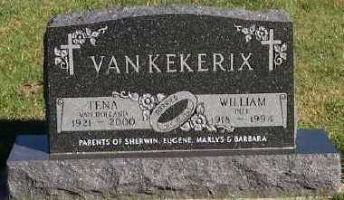 VANKEKERIX, WILLIAM (BILL) - Sioux County, Iowa | WILLIAM (BILL) VANKEKERIX