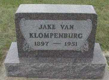 VANKLOMENBURG, JAKE - Sioux County, Iowa | JAKE VANKLOMENBURG