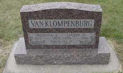 VANKLOMPENBURG, DAISY E. - Sioux County, Iowa | DAISY E. VANKLOMPENBURG