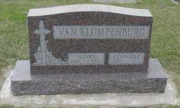 VANKLOMPENBURG, CORNELIA - Sioux County, Iowa | CORNELIA VANKLOMPENBURG