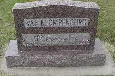 VANKLOMPENBURG, AGNES - Sioux County, Iowa | AGNES VANKLOMPENBURG