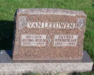 VANLEEUWEN, HENDRIK JAN - Sioux County, Iowa | HENDRIK JAN VANLEEUWEN