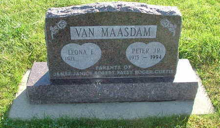 VANMAASDAM, PETER JR. - Sioux County, Iowa | PETER JR. VANMAASDAM