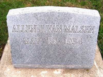 VANMALSEN, ALLEN J. - Sioux County, Iowa | ALLEN J. VANMALSEN