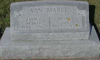 VANMAREL, IDA  (MRS. GERRIT) - Sioux County, Iowa | IDA  (MRS. GERRIT) VANMAREL
