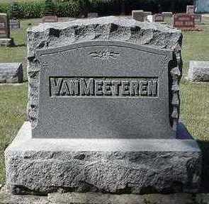 VANMEETEREN, HEADSTONE - Sioux County, Iowa | HEADSTONE VANMEETEREN