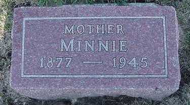 VANMEEVEREN, MINNIE - Sioux County, Iowa   MINNIE VANMEEVEREN