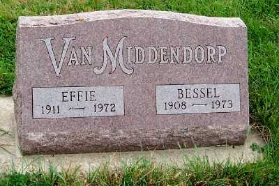 VANMIDDENDORP, EFFIE - Sioux County, Iowa | EFFIE VANMIDDENDORP