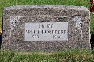 VANMIDDENDORP, WILMA - Sioux County, Iowa | WILMA VANMIDDENDORP