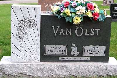 VANOLST, JOHN - Sioux County, Iowa | JOHN VANOLST