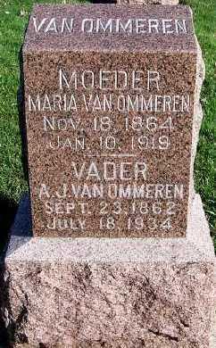 VANOMMEREN, A. J. - Sioux County, Iowa | A. J. VANOMMEREN