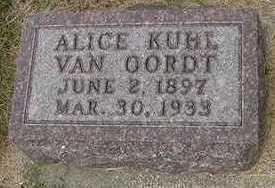 VANOORDT, ALICE - Sioux County, Iowa | ALICE VANOORDT